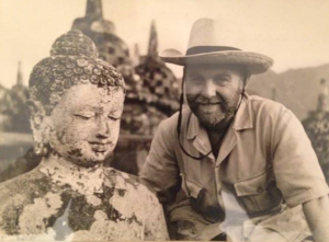 Rudi Dudal in Indonesia in the 1950's, photo: courtesy F. Dudal
